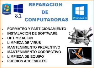 Reparación y Mantenimiento de computo
