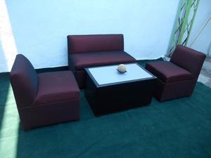 Sala lounge iluminada juego de asientos y posot class for Muebles para bar lounge