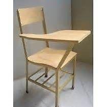sillas paletas escolares, bancas paletas usadas