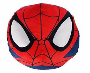 Almohada Cojín 3d Decorativo Spider Man Puff Esponja