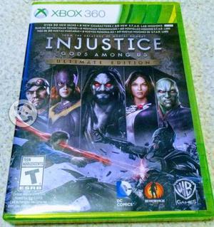 Injustice ultimate edition xbox one y xbox 360