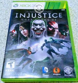 Injustice xbox 360 y one