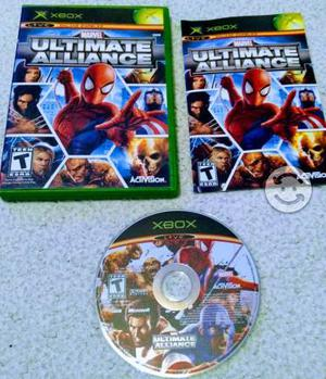 Marvel ultimate alliance xbox clasico