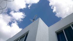 Instalacion de Antena aerea HD
