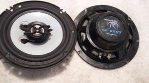 2 Bocinas Audio car 2 vias 6.5 pulgadas
