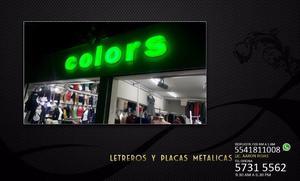 LETRAS 3D, NUMEROS 2D, CAJAS DE LUZ