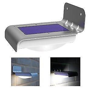 Lámpara Solar Con Fotocelda y Sensor De Movimiento
