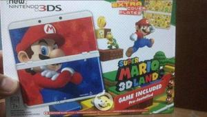 New Nintendo 3ds Edicion Super Mario 3d Land Con D