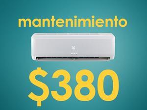 Reparacion, Mantenimiento($350) y Instalacion($850) Aires