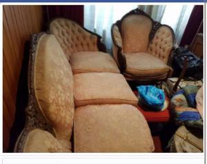 Juego de muebles estilo Luis XV