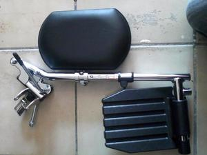 Pieceras con elevapierna, para silla de ruedas