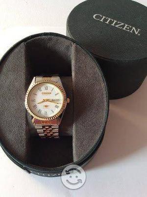 Reloj Citizen 12 Joyas Chapado en Oro