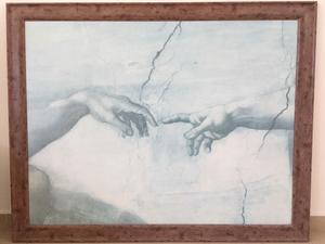 """""""La Creación"""" de Miguel Angel Litografía Original"""