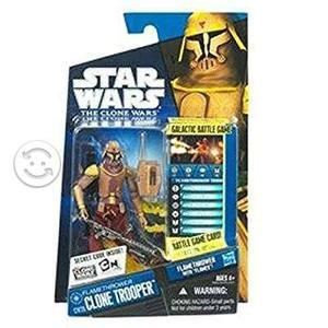 Star Wars Clone Wars Figure Flamethrower