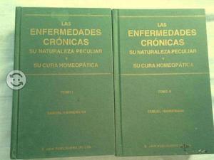 Tomos I y II libro Enfermedades cronicas y su cura