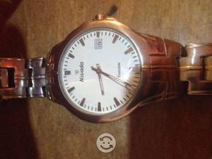 Reloj NIVADA DE ACERO ORIGINAL ELEGANTE FORMAL