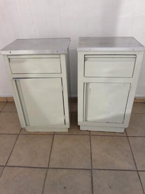 Buro metalico gabinete, c cajon y puerta