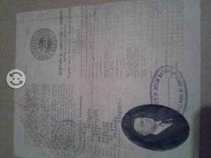 Documento antiguo permiso de cacería México