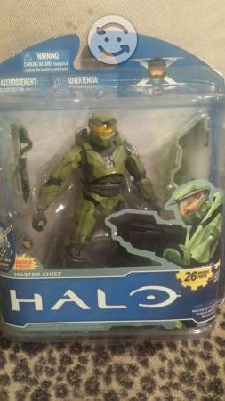 Halo. Master Chief. Mcfarlane