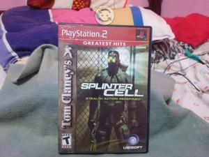 Splinter Cell PS2 Cambio/Vendo
