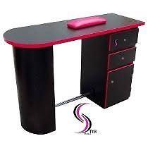 Vendo muebles y producto para aplicación de uñas