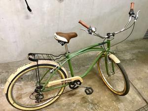 Bicicleta Vintage Tropikal Bike rodada 26 con 6 cambios