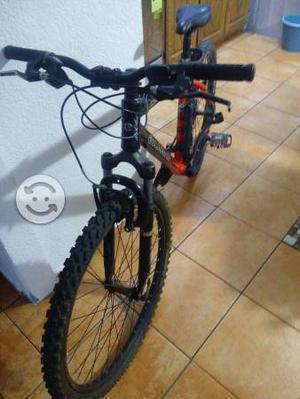 Bicicleta de montaña. Alubike