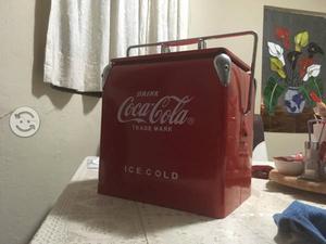 Hielera Retro Coca Cola de Colección
