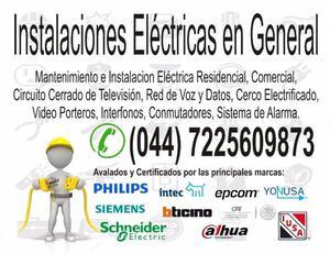 Instalaciones Electricas y Sistemas de Seguridad
