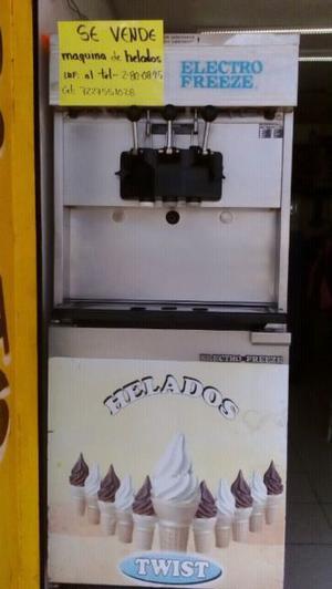 Maquina de helados twist de 3 sabores