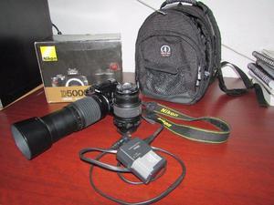 Nikon D+ Lente mm + mm+ Mochila De Viaje