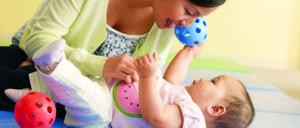 Clases de estimulación Temprana para bebés