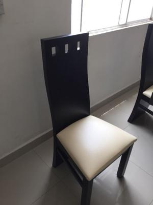 Comedor de seis sillas excelentes condiciones