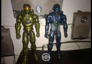 Figuras HALO Master Chief y Spartan Locke