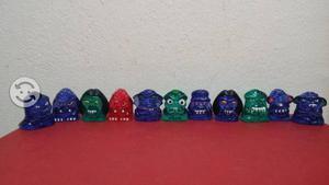 Monstruos helio locos coca cola 11 figuras