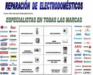 REPARACIÓN DE APARATOS ELECTRODOMÉSTICOS