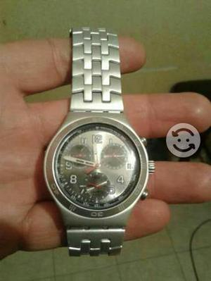 Reloj swatch de aluminio