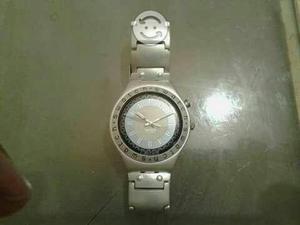 Reloj swatch de aluminio con luz