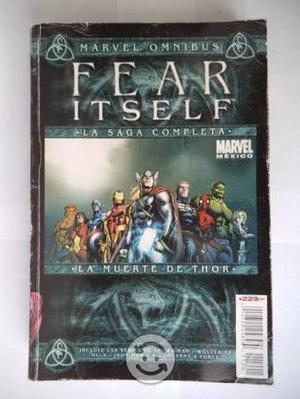 La Muerte De Thor Fear Itself Marvel Omnibus Telev