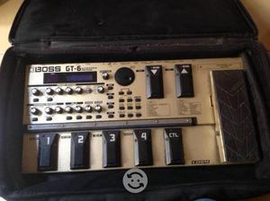Procesador de efectos para Guitarra BOSS GT-6