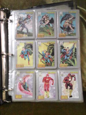 Tarjetas de coleccion DC comics