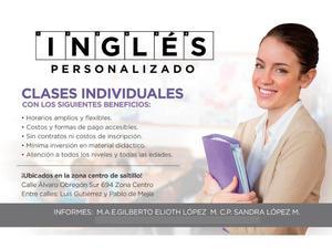 CLASES INDIVIDUALES DE INGLÉS