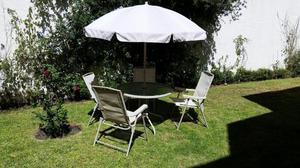Mesa para jardín o exterior
