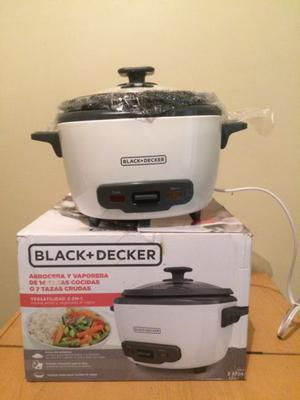 Arrocera y vaporera Black and Decker