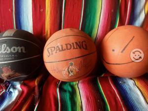Balones fútbol y básquetbol