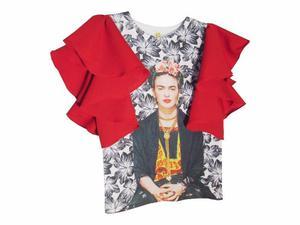 Blusa impresa Frida Kahlo