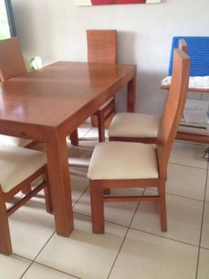 Excelente Comedor 6 sillas