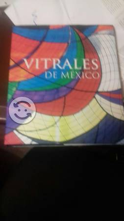 Libro los vitrales de mexico