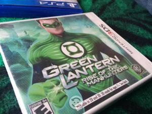 Linterna verde y Batman 3DS