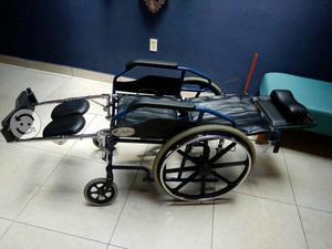 Sillas de ruedas reclinable nueva monterrey posot class for Sillas de ruedas usadas